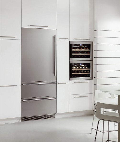 cave vin encastrable niche 45cm 18 bouteilles inox vitr. Black Bedroom Furniture Sets. Home Design Ideas