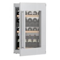 Cave à vin mixte encastrable 30 bouteilles A Inox / verre - LIEBHERR Réf. EWTdf1653