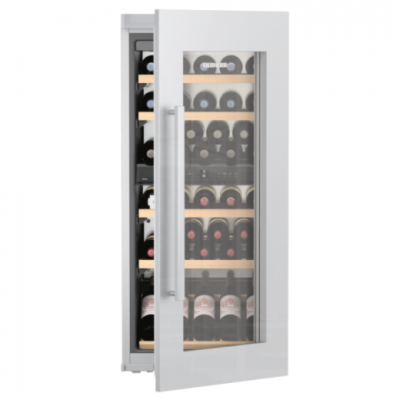 Cave vin mixte encastrable 48 bouteilles a inox verre - Temperature cave a vin electrique ...