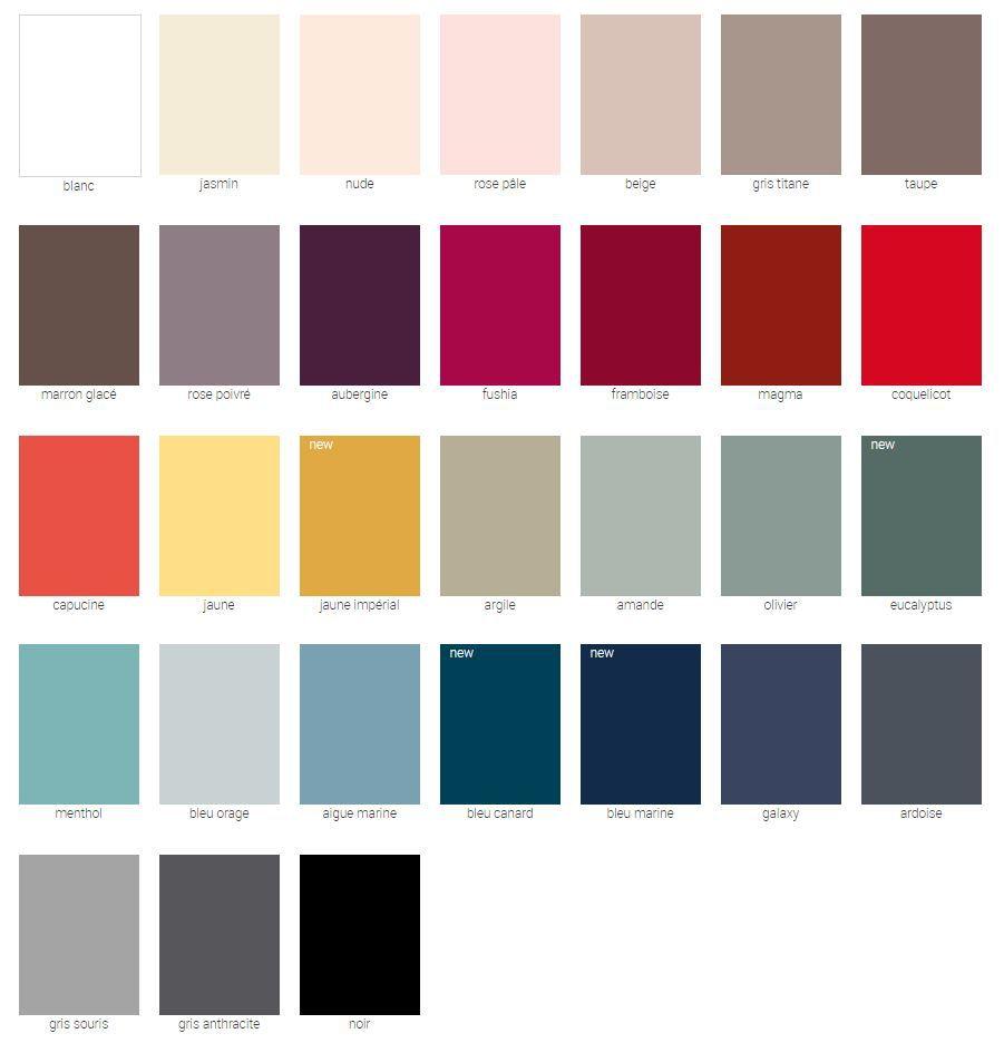 Choix du coloris pour meuble SANIJURA de la gamme Vertigo