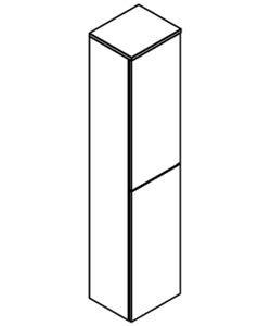 COLONNE 2 portes - DECOTEC Réf. 1813751