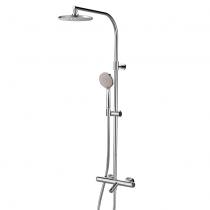 Colonne bain-douche thermostatique E-Plus télescopique TL Chromé - GRB Réf. 35433350TL