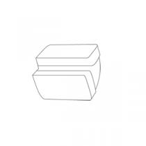 Coude vertical 220x90 - FALMEC Réf. 115984