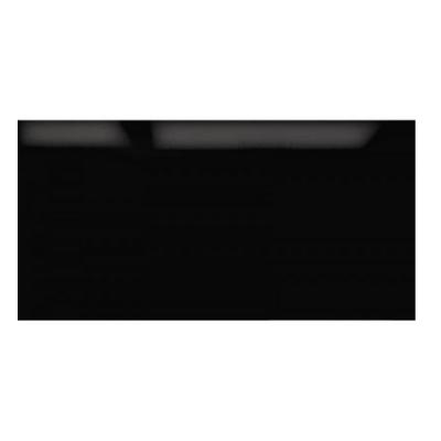 cr dence 110x40cm verre noir roblin r f 6406099 1120172927. Black Bedroom Furniture Sets. Home Design Ideas