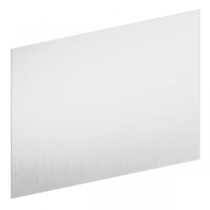 Crédence 80x50cm verre Blanc - FRANKE Réf. 489812