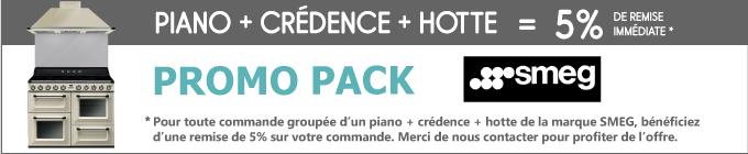 Piano+crédence+hotte=100€ de remise immédiate*