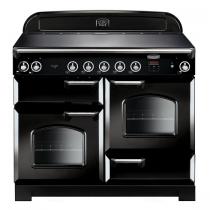 Cuisinière 110cm Falcon New Classic Noir Chromé CLA110EIBL/C-EU 3 fours électriques / 5 foyers induction