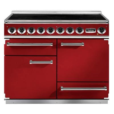 cuisini re 110cm falcon pkr 110 deluxe rouge cerise nickel. Black Bedroom Furniture Sets. Home Design Ideas
