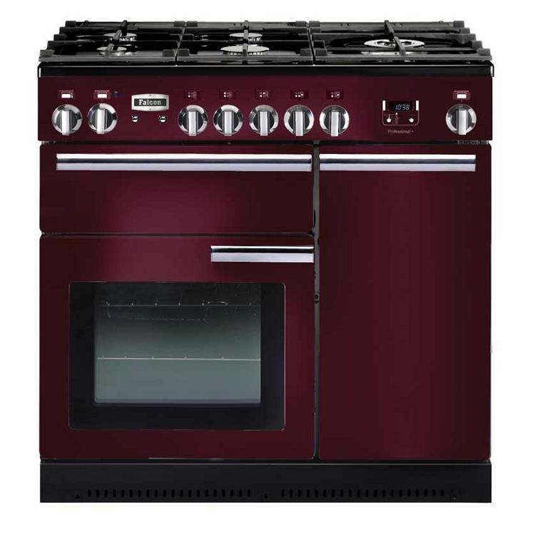 cuisini re 90cm falcon professional 90 rouge airelle. Black Bedroom Furniture Sets. Home Design Ideas