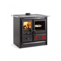 Cuisinière à bois La Nordica Rosa L 7015185 8kW Noir Anthracite