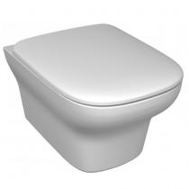 Cuvette WC suspendue Vox sans bride avec abattant à descente progressive Blanc - JACOB DELAFON Réf. EDM112-00
