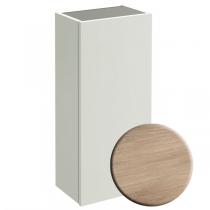 Demi-colonne Parallel 30cm version gauche mélaminé Chêne Québec - JACOB DELAFON Réf. EB513G-E10