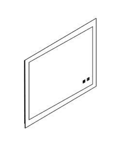 DIVIN PLUS - Miroir LED L100 - DECOTEC Réf. 1746321