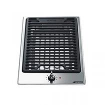 Domino barbecue 30cm Inox - SMEG Réf. PGF30B