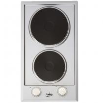 Domino de cuisson électrique 30cm 2 foyers Inox - Réf. HDCE32200X