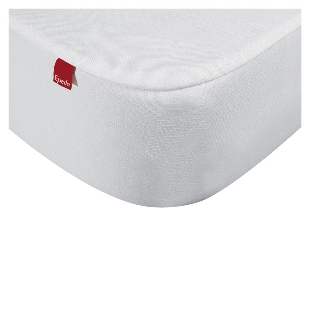 drap housse 2 en 1 avec prot ge matelas 180 x 200 cm blanc epeda r f jg1077118020000. Black Bedroom Furniture Sets. Home Design Ideas