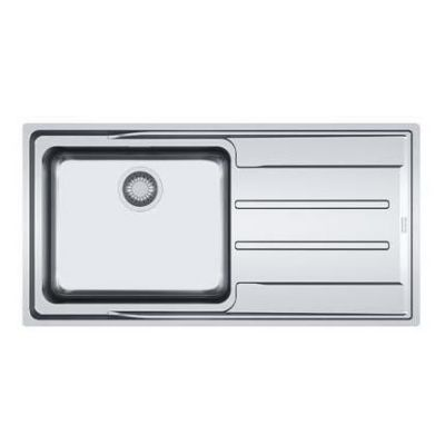evier 1 cuve aton anx211 1004 x 514 avec gouttoir droite inox franke r f 757626. Black Bedroom Furniture Sets. Home Design Ideas