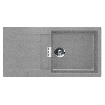 evier r versible 1 cuve scala 100x50 avec gouttoir luisigranit croma luisina r f ev224011lc022. Black Bedroom Furniture Sets. Home Design Ideas