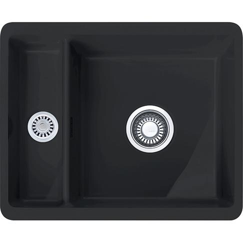 evier sous plan 1 cuve 1 2 kubus kbk160 fraceram. Black Bedroom Furniture Sets. Home Design Ideas
