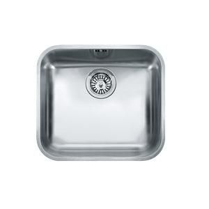 Evier sous plan 1 cuve galassia gat110 45 480 x 430 inox for Evier franke inox microdekor