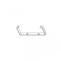 Fixation de gaine rectangulaire 220 x 90 - FALMEC Réf. 115982