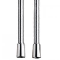 Flexible Silver anti-torsion 120cm Chromé - GRB Réf. 08951000