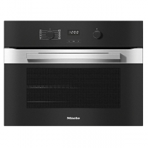 Four compact multifonction Perfect Clean 49l A+ Inox anti-traces - MIELE Réf. H 2840 B