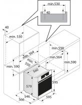 Four multifonction pyrolyse 73l A+ Soft Black effet nacré - ASKO Réf. OP8678G