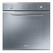 Four multifonction Vapor Clean Elementi 70l A Supersilver - SMEG Réf. SF6400TVS