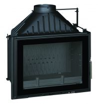 Foyer à bois Invicta Grand Angle 700 9270-73 12kW Anthracite