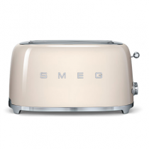 Grille pain 4 tranches Années 50 Crème - SMEG Réf. TSF02CREU