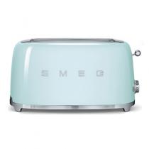 Grille pain 4 tranches Années 50 Vert d\'eau - SMEG Réf. TSF02PGEU