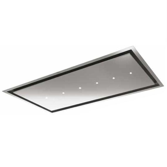 hotte de plafond aqua 120cm 605m3 h inox roblin elite ref 6509954 3500537275