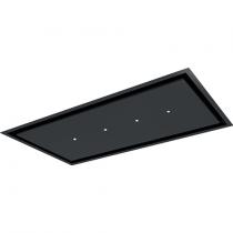 Hotte de plafond Aqua 90cm 839m3/h Noir mat - ROBLIN Réf. 6678605