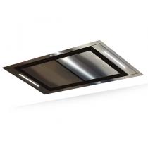 Hotte de plafond Confidence 100cm sans moteur Inox - ROBLIN Réf. 6209266