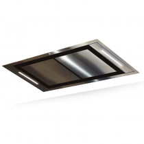 Hotte de plafond Confidence 120cm sans moteur Inox - ROBLIN Réf. 6209268