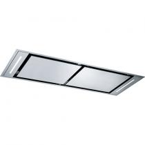 Hotte de plafond Confidence 140cm 839m3/h Inox - ROBLIN Réf. 6628860