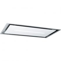 Hotte de plafond High Confidence Plus 120cm 905m3/h verre Blanc - ROBLIN Réf. 6627986