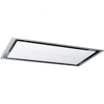 Hotte de plafond High Confidence Plus 90cm 905m3/h verre Blanc - ROBLIN Réf. 6627962