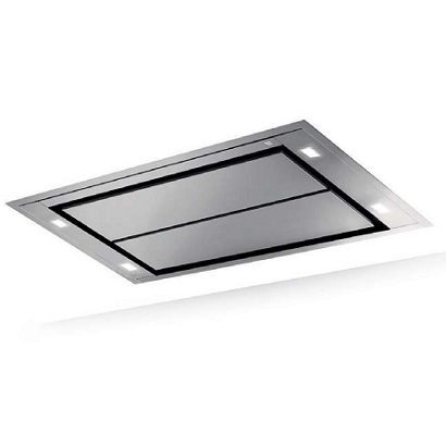 Hotte De Plafond Inspiration Cm Sans Moteur Inox ROBLIN Réf - Hotte de cuisine sans moteur