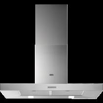 Hotte décorative 90cm 603m3/h Inox - AEG Réf. DBB4950M