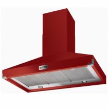 hotte d corative falcon pkr 1092 ultra aspirante rouge cerise fhdse1092rd n 110cm 1000m3 h. Black Bedroom Furniture Sets. Home Design Ideas
