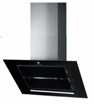 Hotte inclinée Vizio 90cm 760m3/h verre Noir - ROBLIN Réf. 6042271