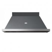 Hotte Lacanche 120cm pour piano 100cm 24 coloris disponibles finition Inox
