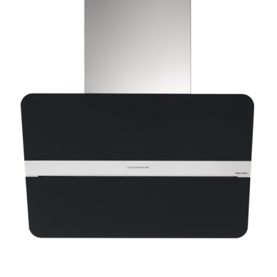 hotte murale flipper nrs 85cm 800m3 h inox verre noir falmec r f 125260 flipnrs1420. Black Bedroom Furniture Sets. Home Design Ideas