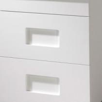 Jeu de 2 inserts Blanc pour meuble Color - OZE Réf. COLORPMB