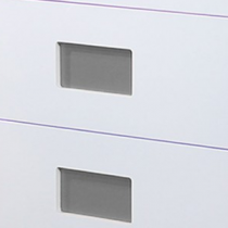 Jeu de 2 inserts Gris pour meuble Color - OZE Réf. COLORPMG