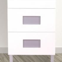 Jeu de 2 inserts Lilas pour meuble Color - OZE Réf. COLORPML
