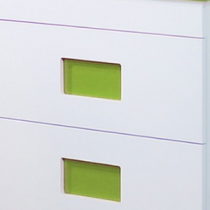 Jeu de 2 inserts Pistache pour meuble Color - OZE Réf. COLORPMP