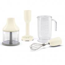 Kit de 4 accessoires pour mixeur plongeant Années 50 Crème - SMEG Réf. HBAC01CR